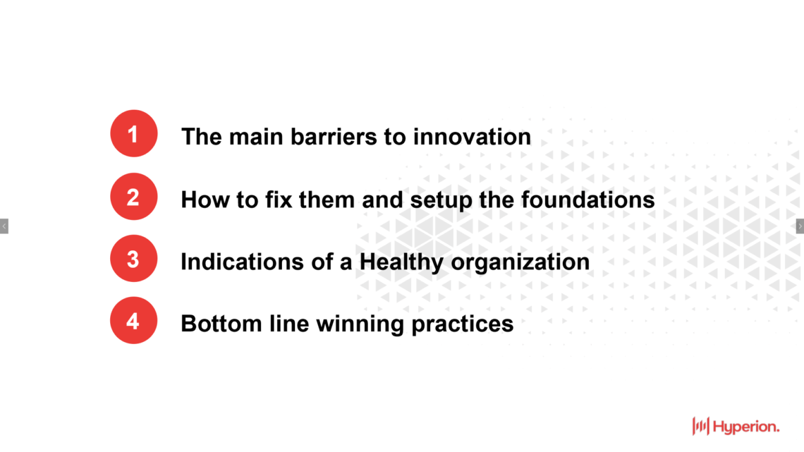 FOUNDATIONS FOR INNOVATION